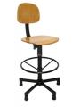 Cadeira para Arrematadeira em Madeira Profissional Completa Base Caixa APERFLEX 1.6 - NR.17